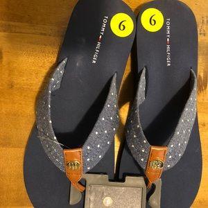 Ladies flip-flops Tommy Hilfiger size 9